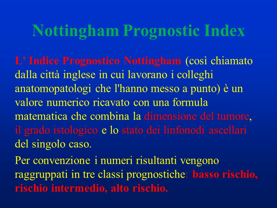 Nottingham Prognostic Index