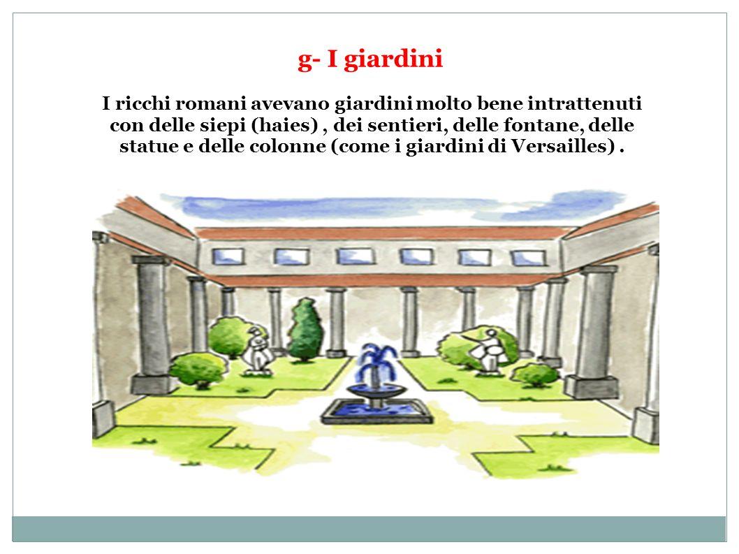 g- I giardini