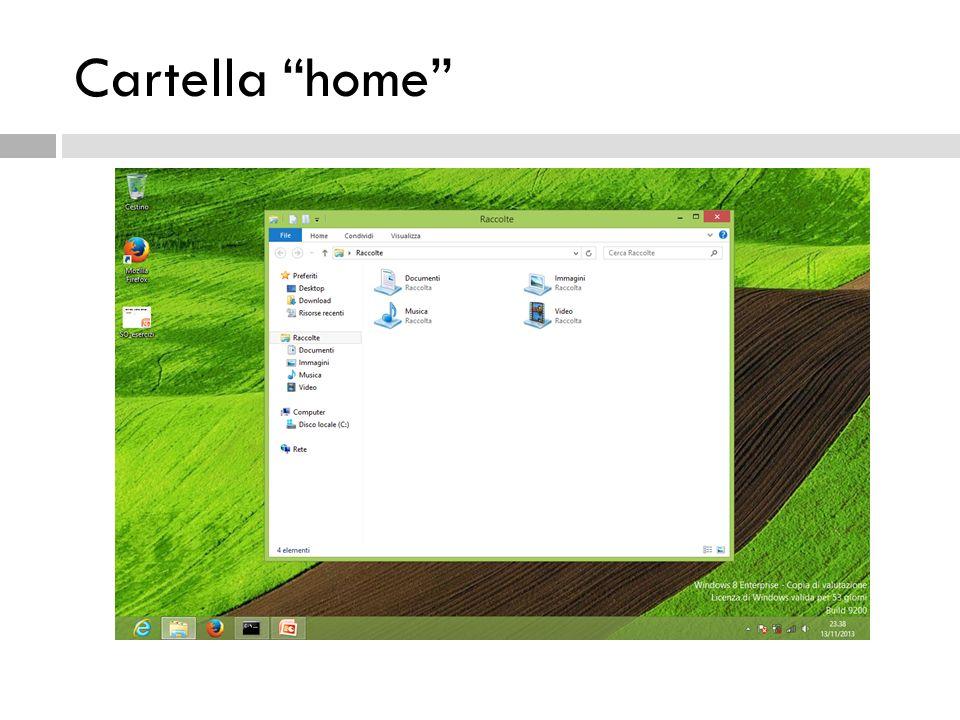 Cartella home