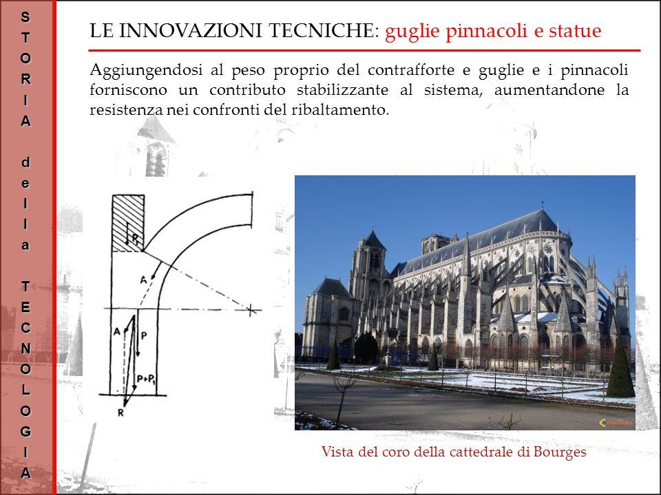 LE INNOVAZIONI TECNICHE: guglie pinnacoli e statue