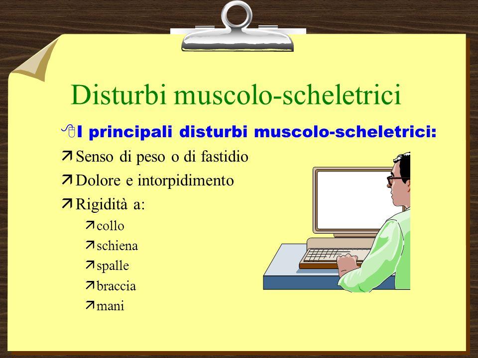 Disturbi muscolo-scheletrici
