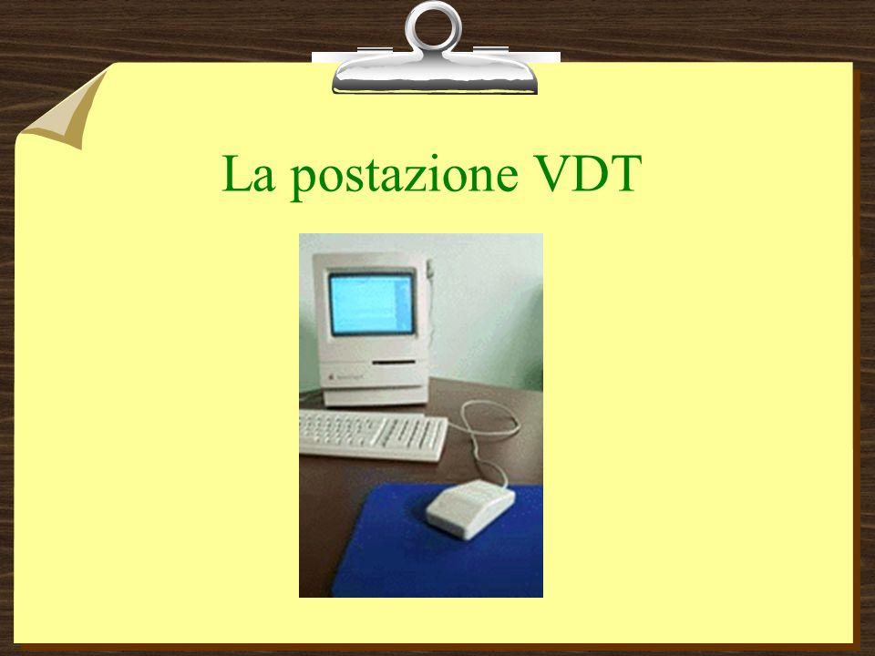 La postazione VDT