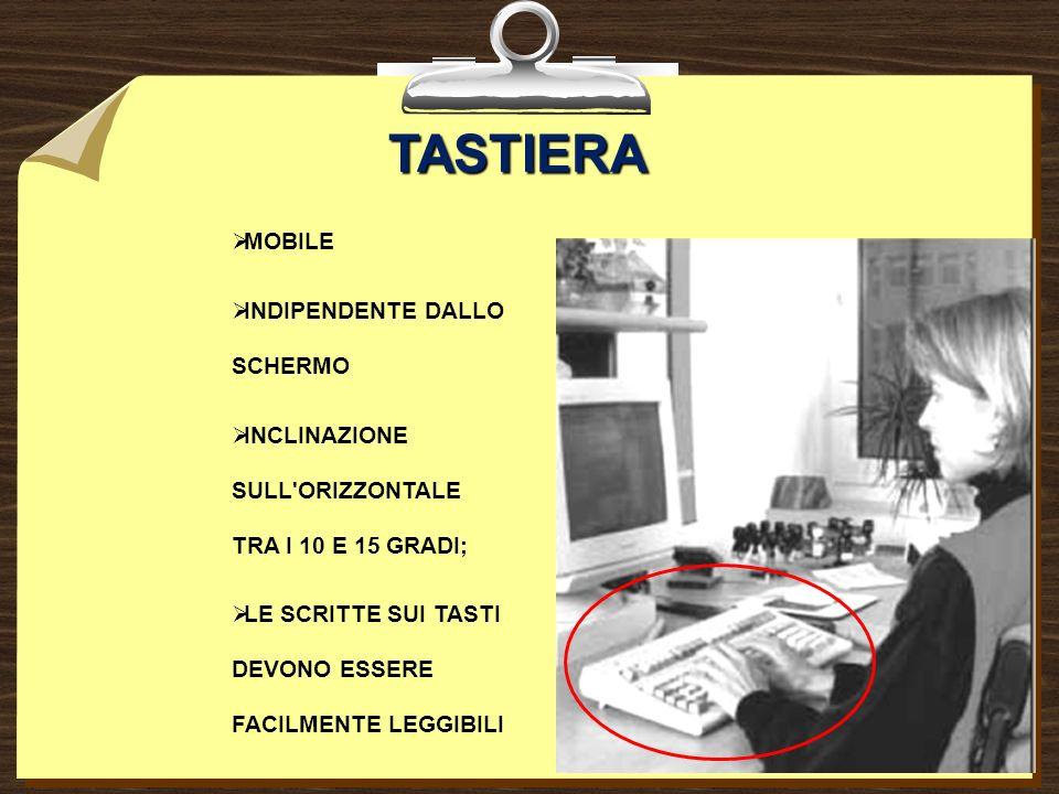 TASTIERA MOBILE INDIPENDENTE DALLO SCHERMO