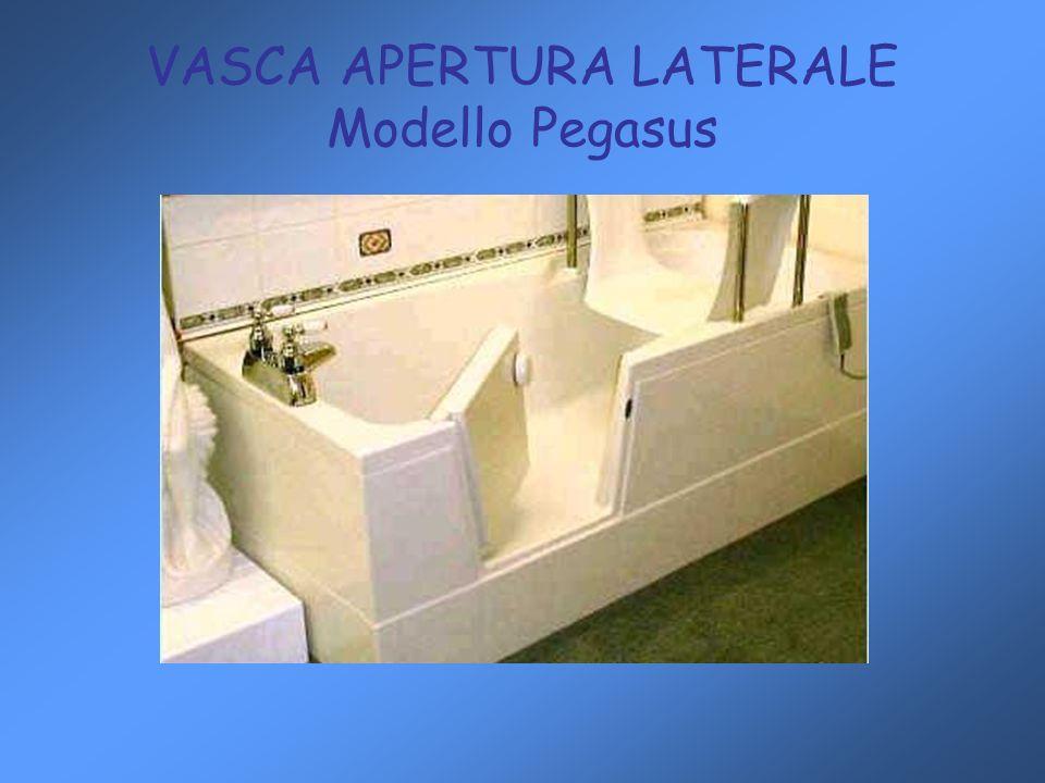 VASCA APERTURA LATERALE Modello Pegasus