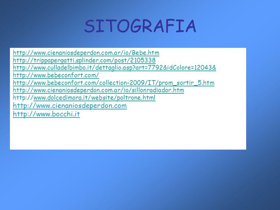 SITOGRAFIA http://www.cienaniosdeperdon.com http://www.bocchi.it