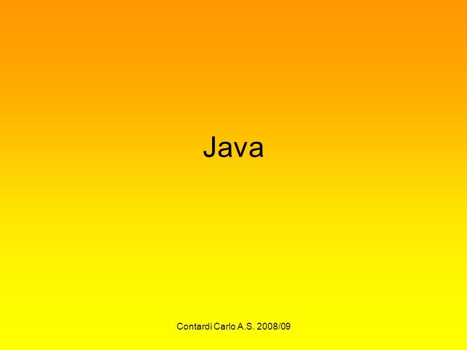 Java Contardi Carlo A.S. 2008/09
