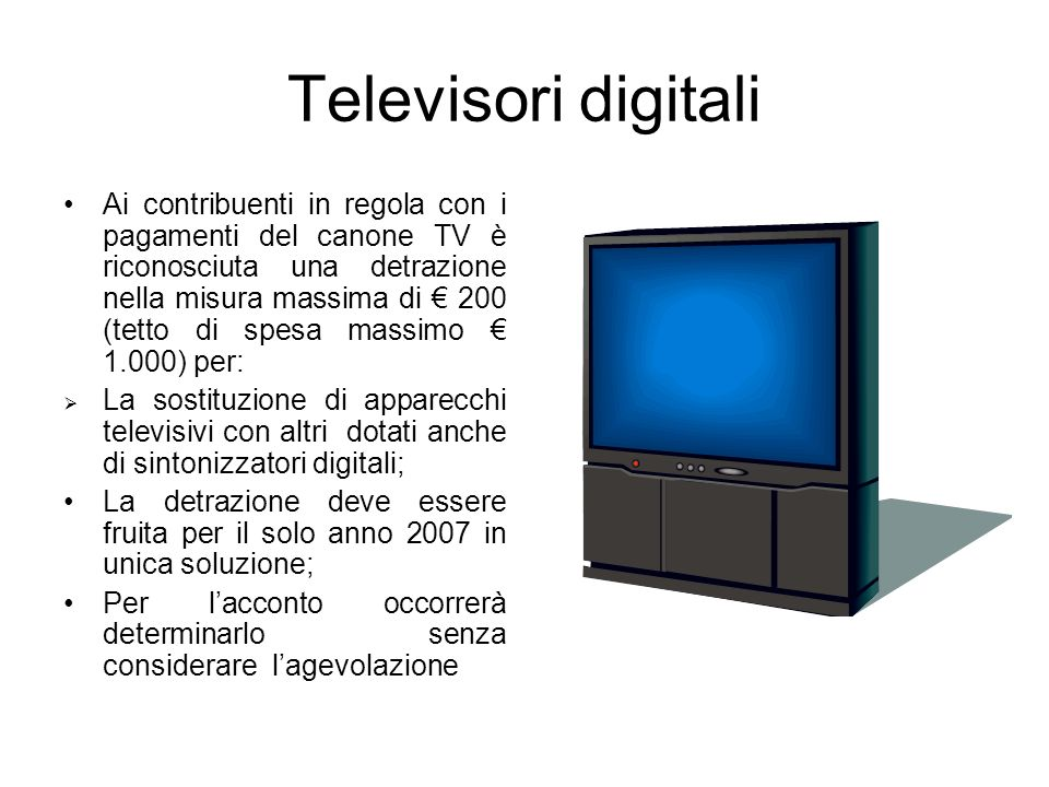 Televisori digitali
