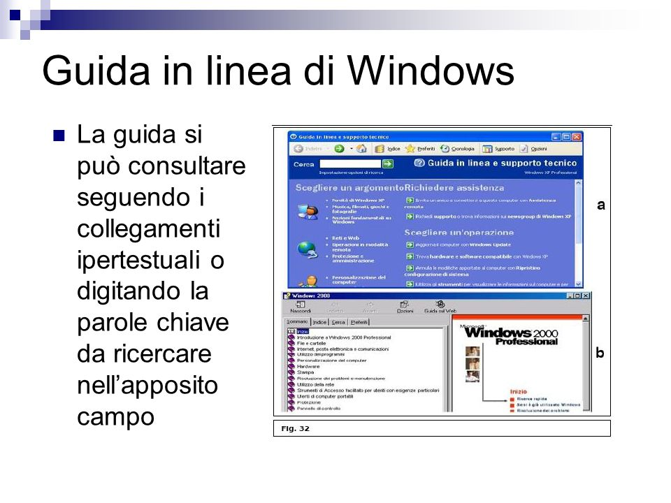 Guida in linea di Windows