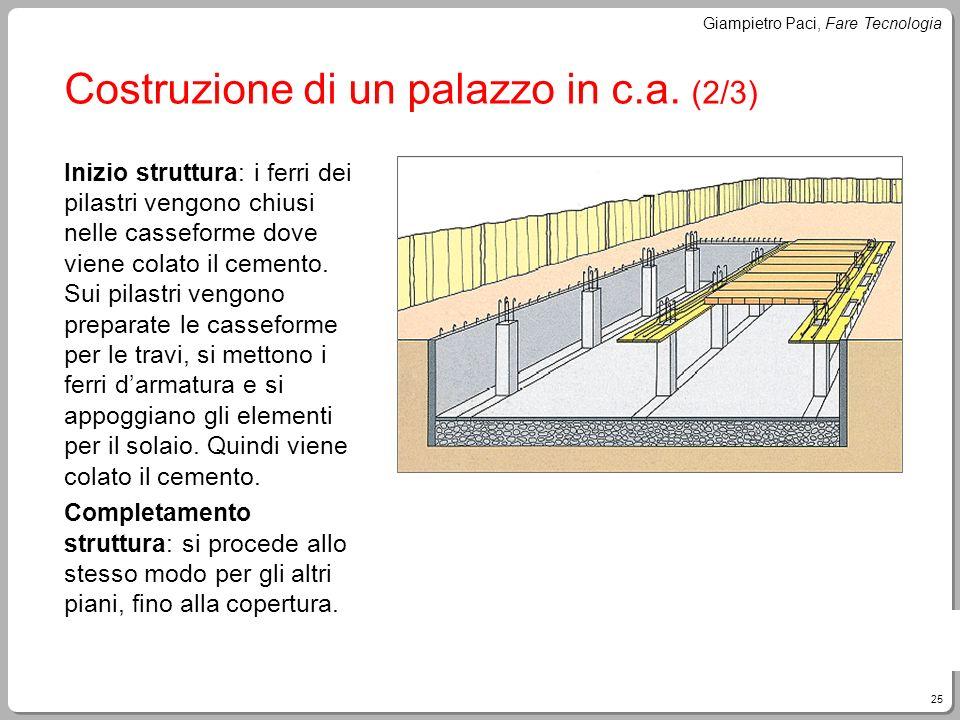 Costruzione di un palazzo in c.a. (2/3)