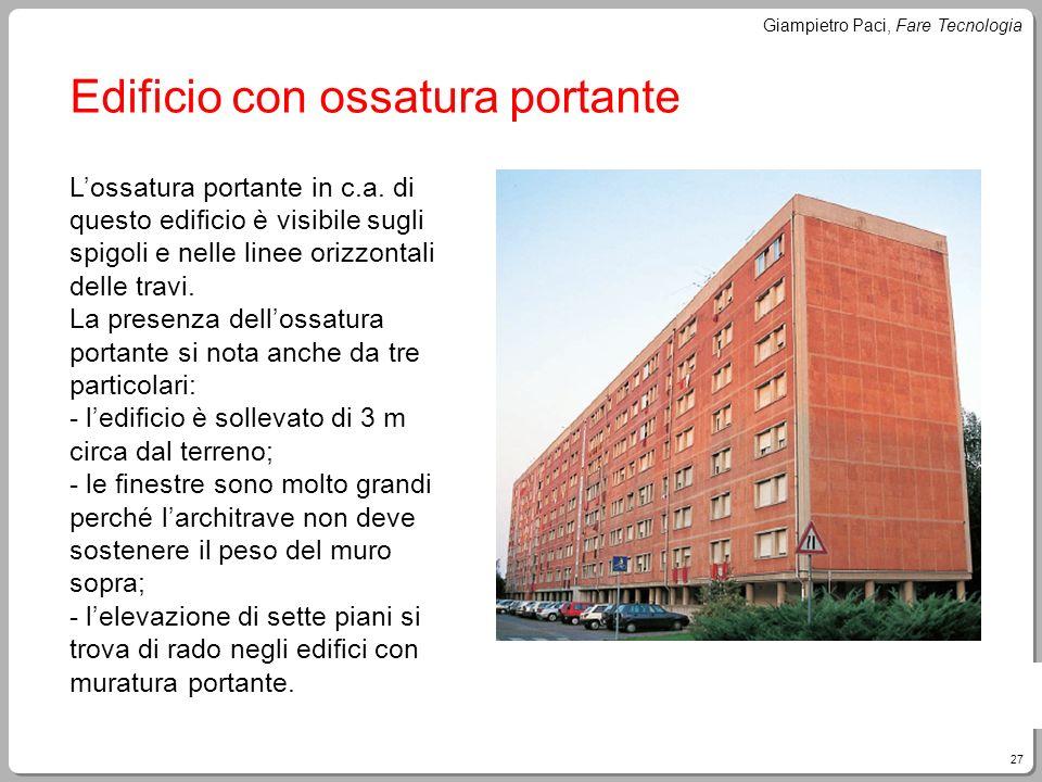 Edificio con ossatura portante