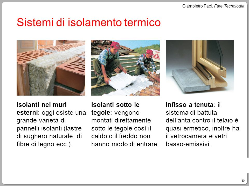 Sistemi di isolamento termico