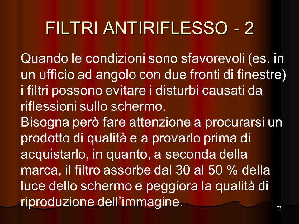 FILTRI ANTIRIFLESSO - 2