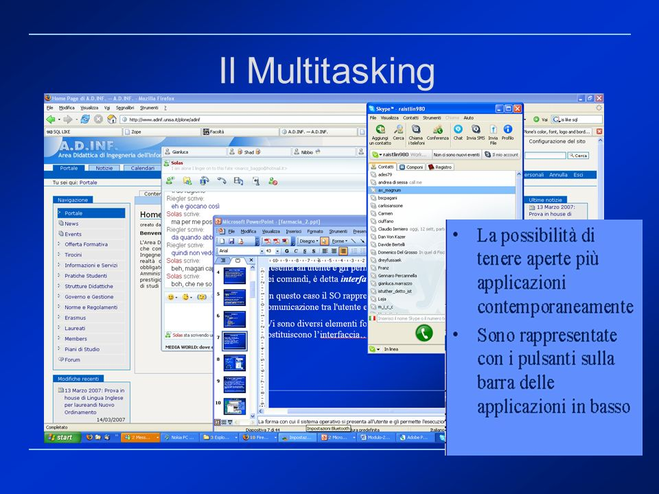 Il Multitasking