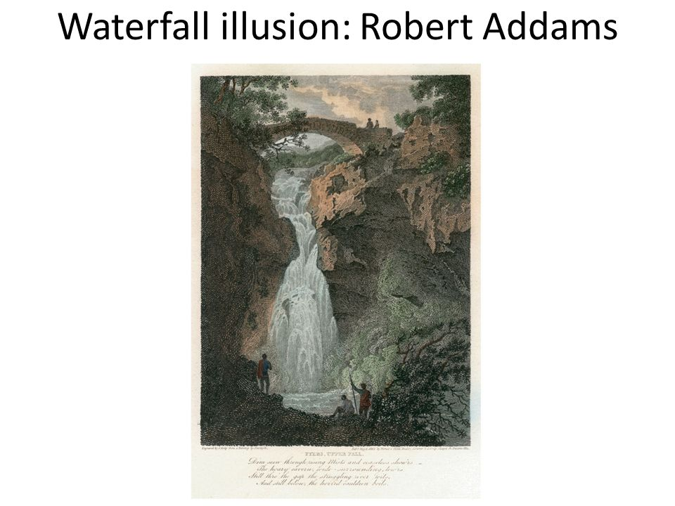 Waterfall illusion: Robert Addams