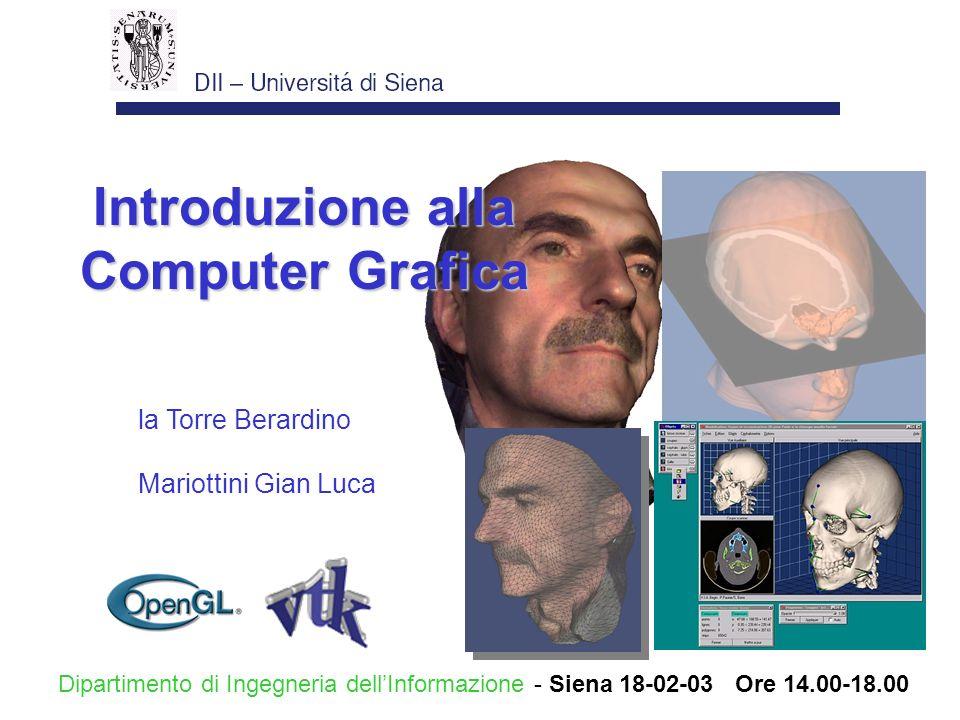 Introduzione alla Computer Grafica