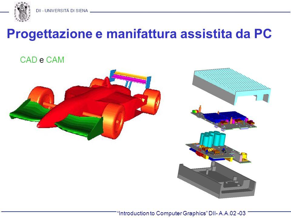 Progettazione e manifattura assistita da PC