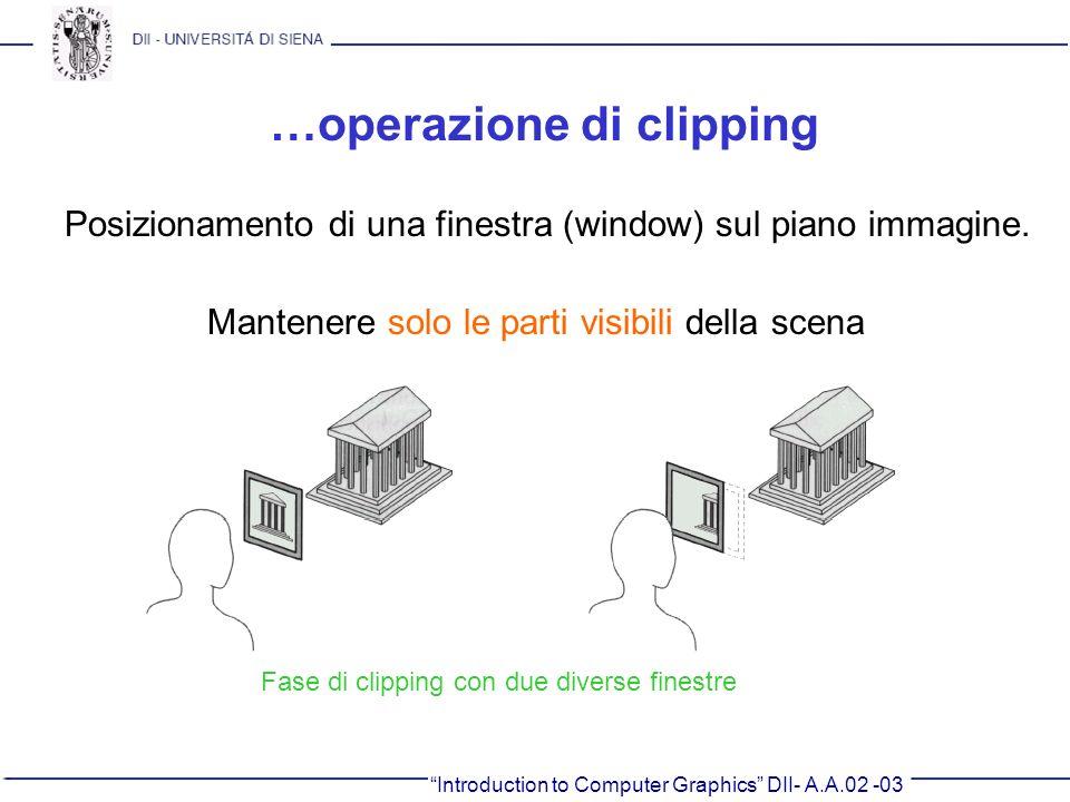 …operazione di clipping