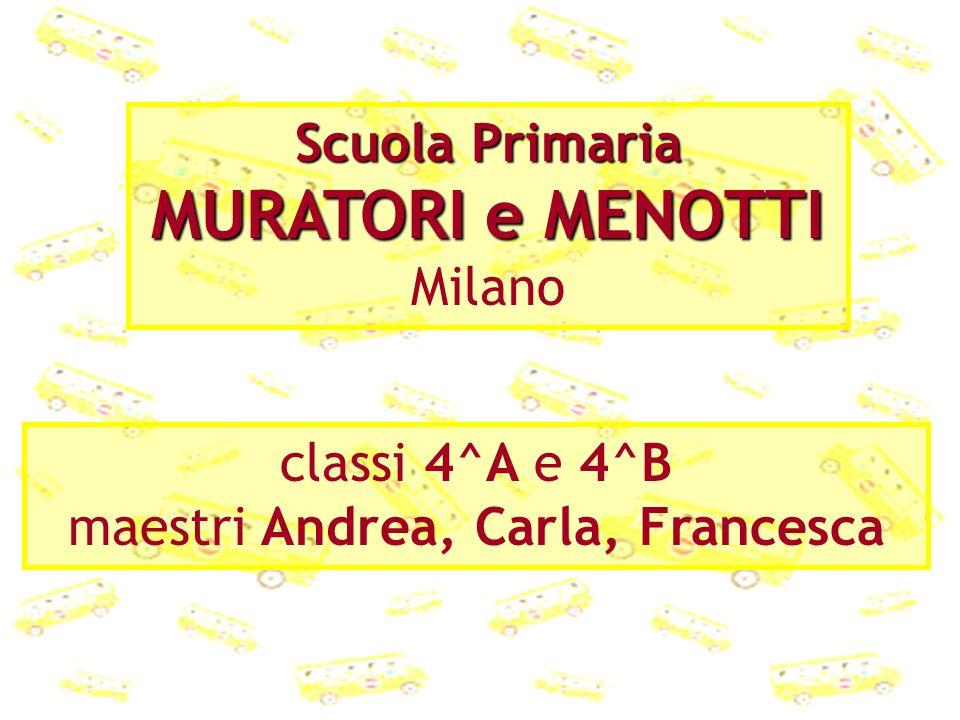 Scuola Primaria MURATORI e MENOTTI Milano