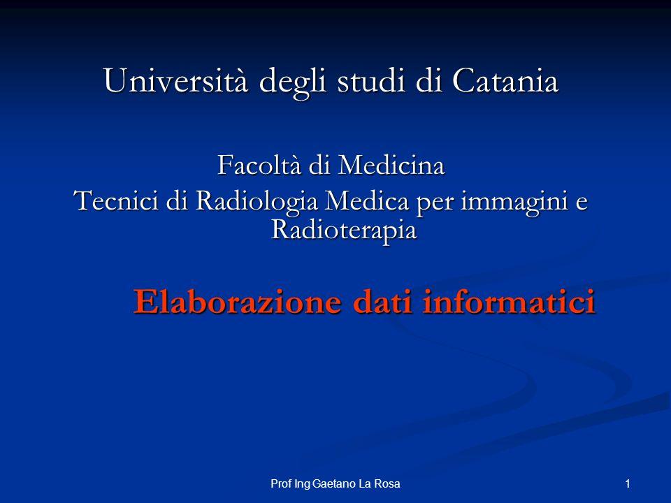 Università degli studi di Catania