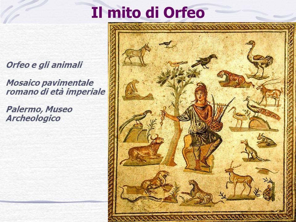 Il mito di Orfeo Orfeo e gli animali
