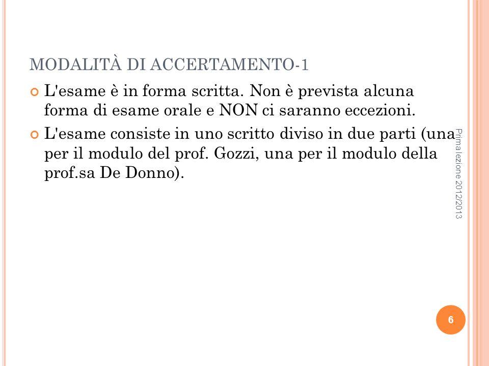 MODALITÀ DI ACCERTAMENTO-1