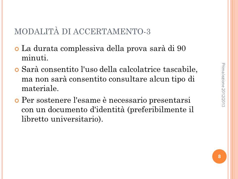 MODALITÀ DI ACCERTAMENTO-3