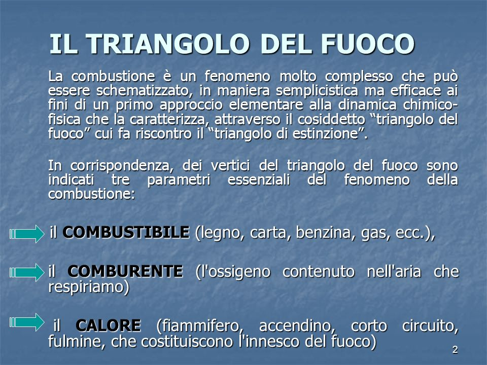 IL TRIANGOLO DEL FUOCO