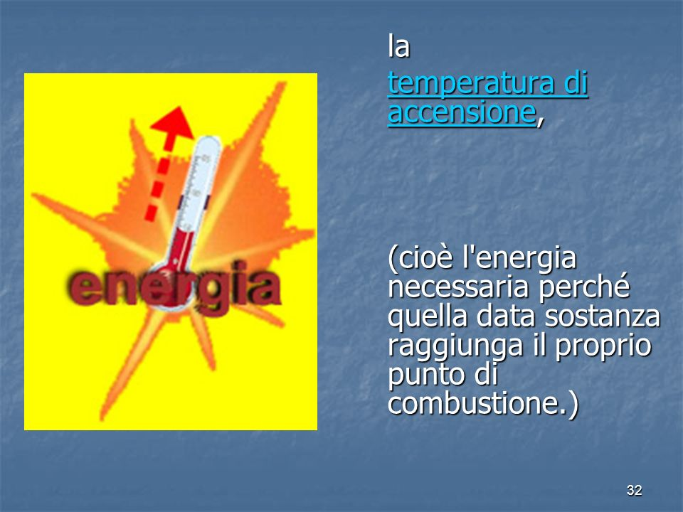temperatura di accensione,