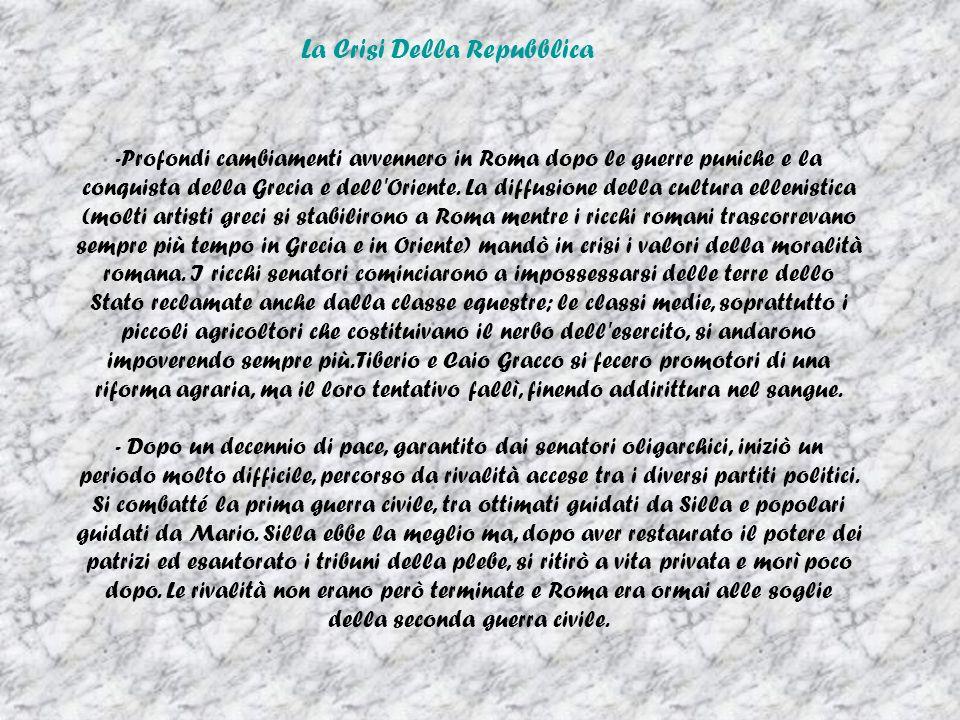 La Crisi Della Repubblica