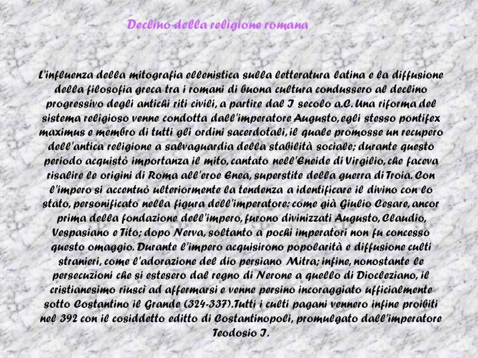 Declino della religione romana