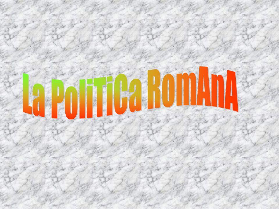 La PoliTiCa RomAnA