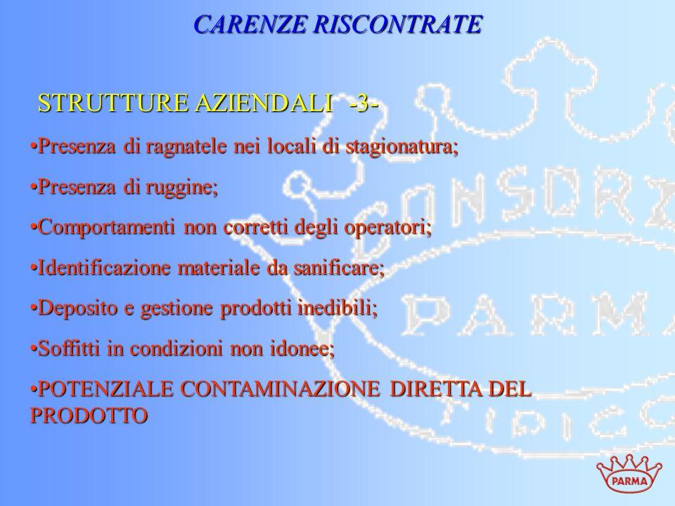 STRUTTURE AZIENDALI -3-