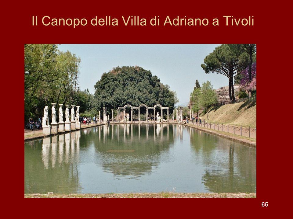 Il Canopo della Villa di Adriano a Tivoli