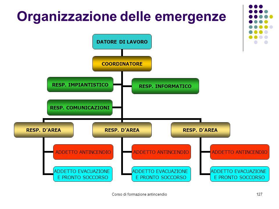 Organizzazione delle emergenze