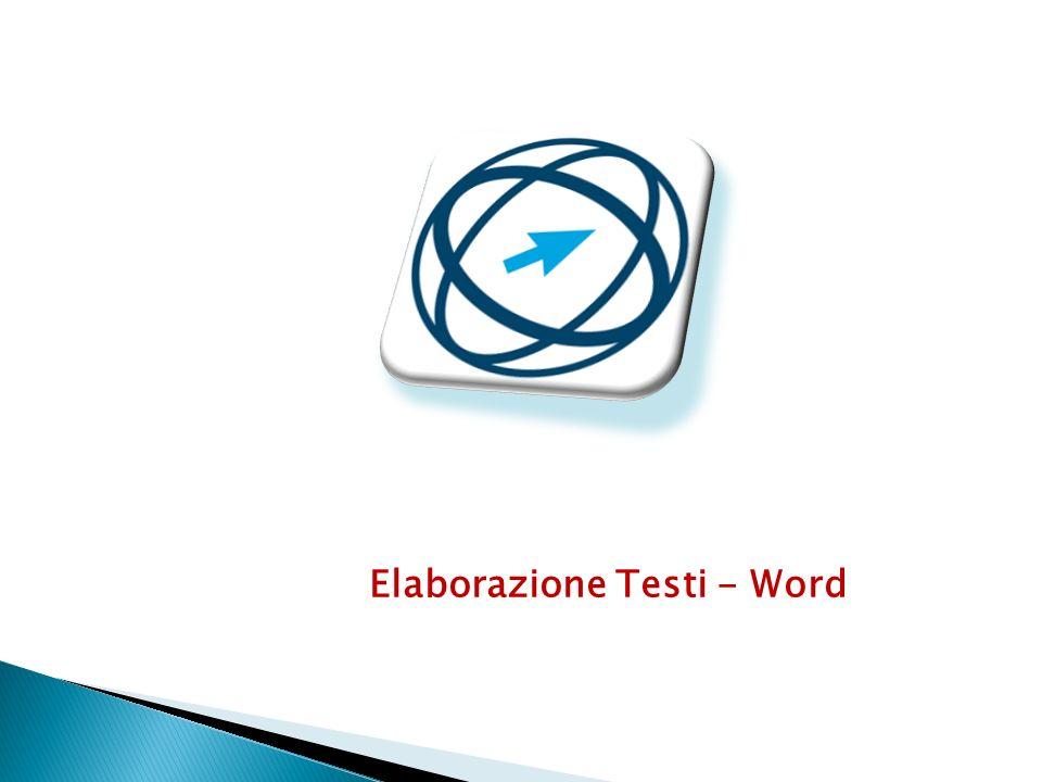 Elaborazione Testi - Word