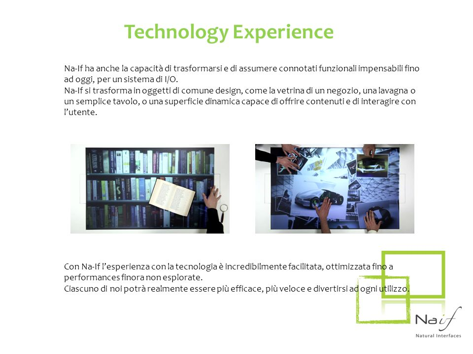 Technology Experience