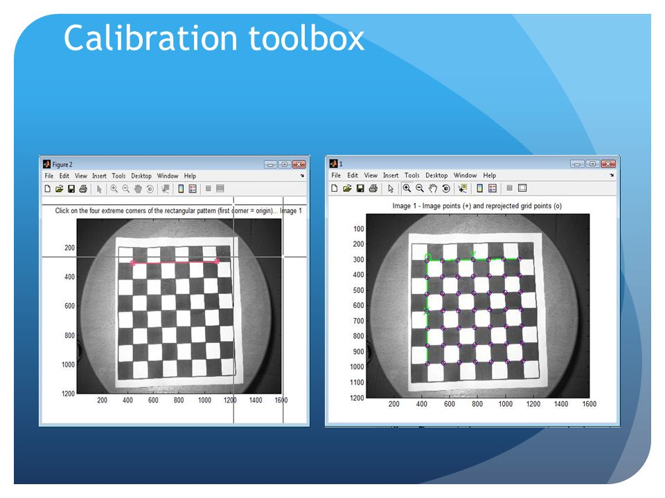 Calibration toolbox