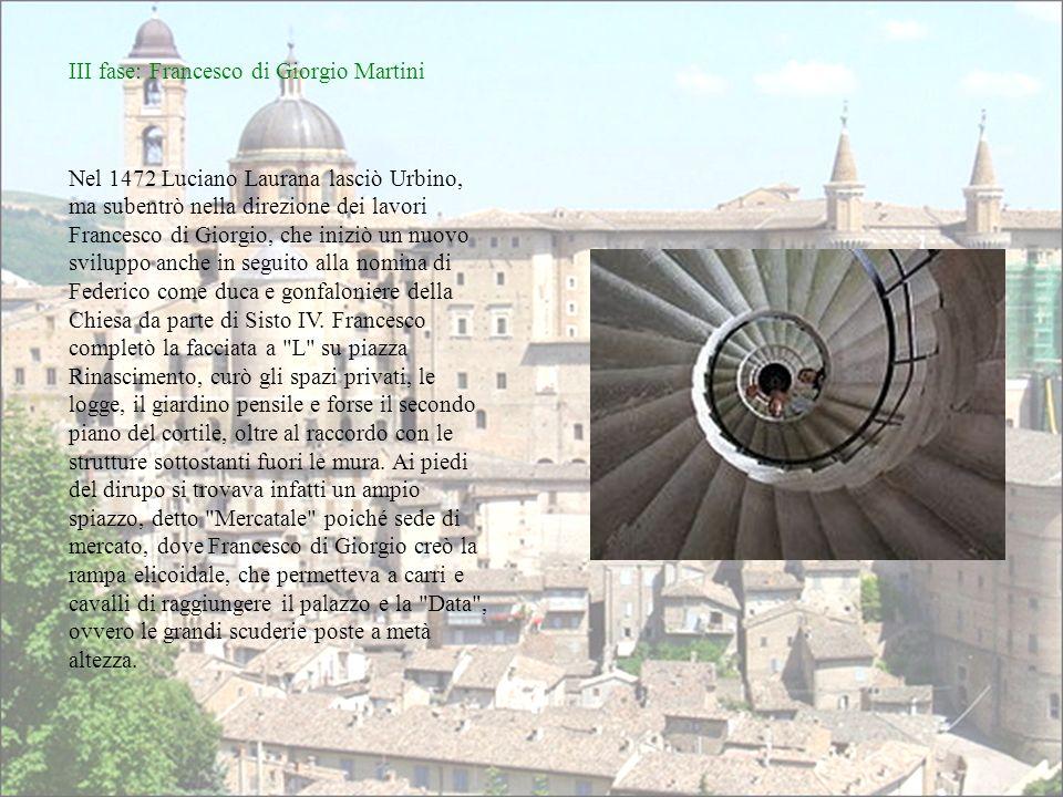 III fase: Francesco di Giorgio Martini