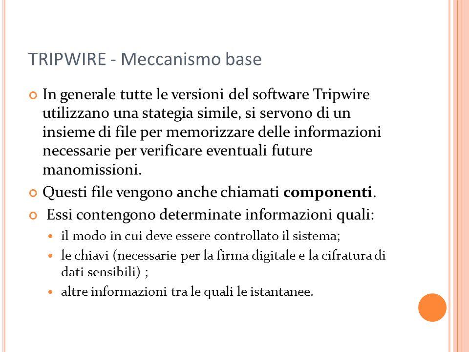 TRIPWIRE - Meccanismo base
