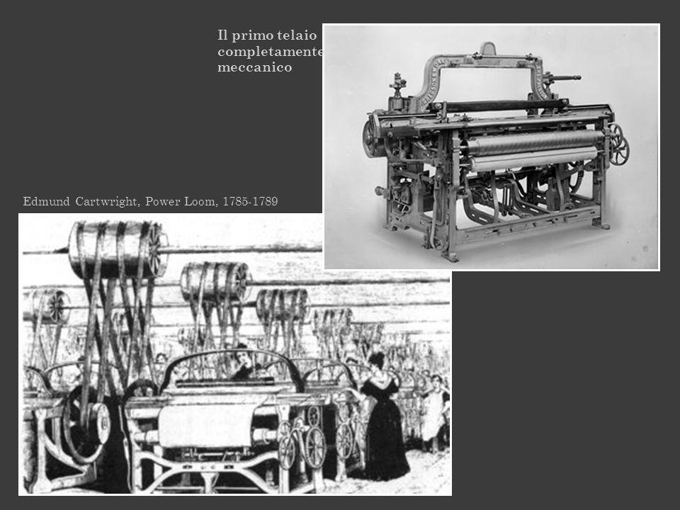 Il primo telaio completamente meccanico