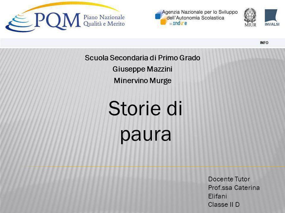 Scuola Secondaria di Primo Grado Giuseppe Mazzini Minervino Murge