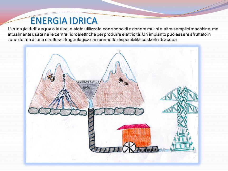 ENERGIA IDRICA