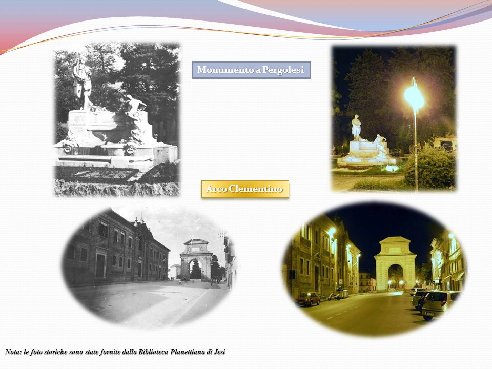 Monumento a Pergolesi Arco Clementino