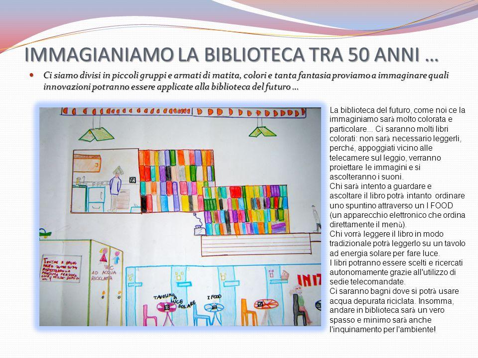 IMMAGIANIAMO LA BIBLIOTECA TRA 50 ANNI …