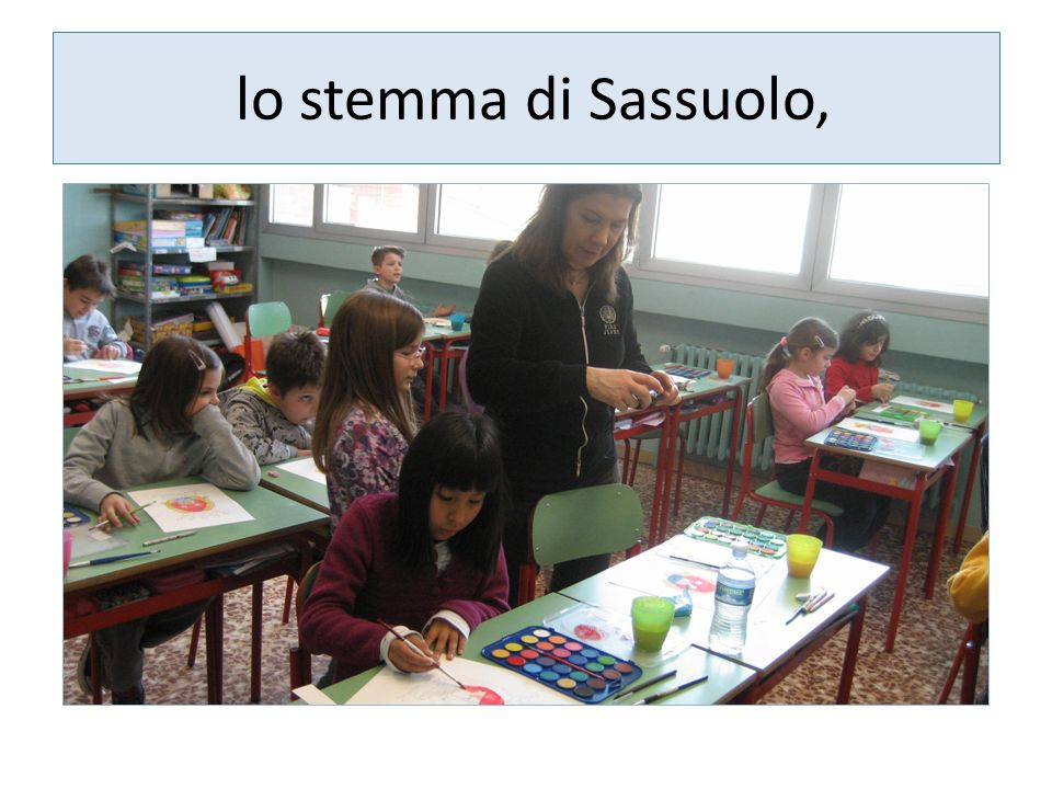 lo stemma di Sassuolo,