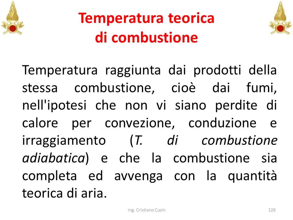 Temperatura teorica di combustione