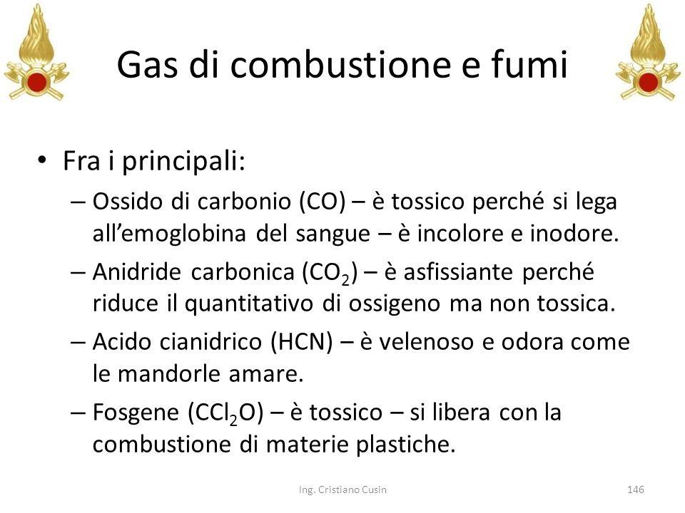 Gas di combustione e fumi