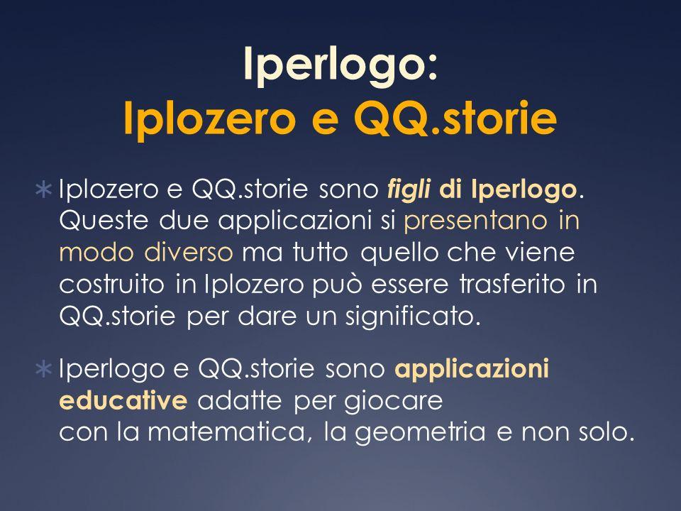 Iperlogo: Iplozero e QQ.storie
