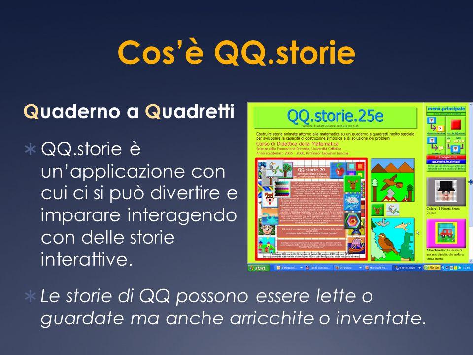 Cos'è QQ.storie Quaderno a Quadretti
