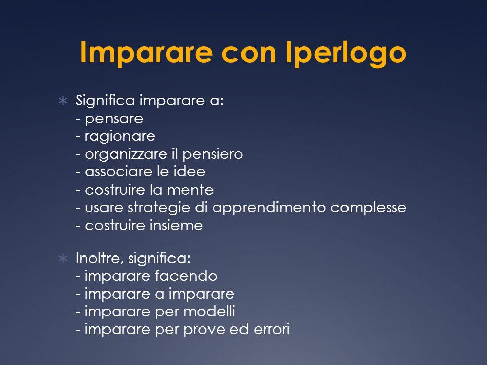 Imparare con Iperlogo